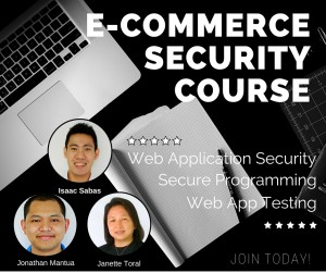 ecommerce secuirty course