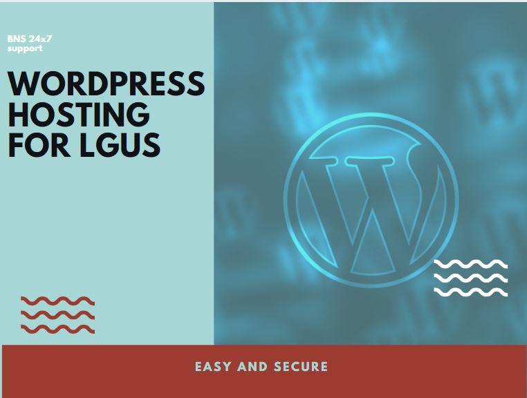 WordPress Hosting Packages for LGUs