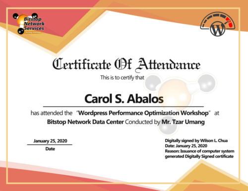 Carol Abalos