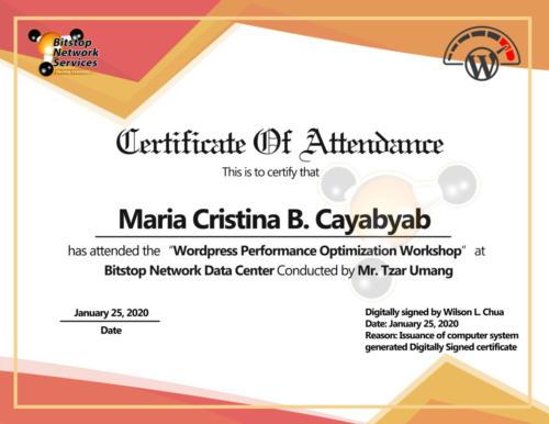 Maria Cristina Cayabyab
